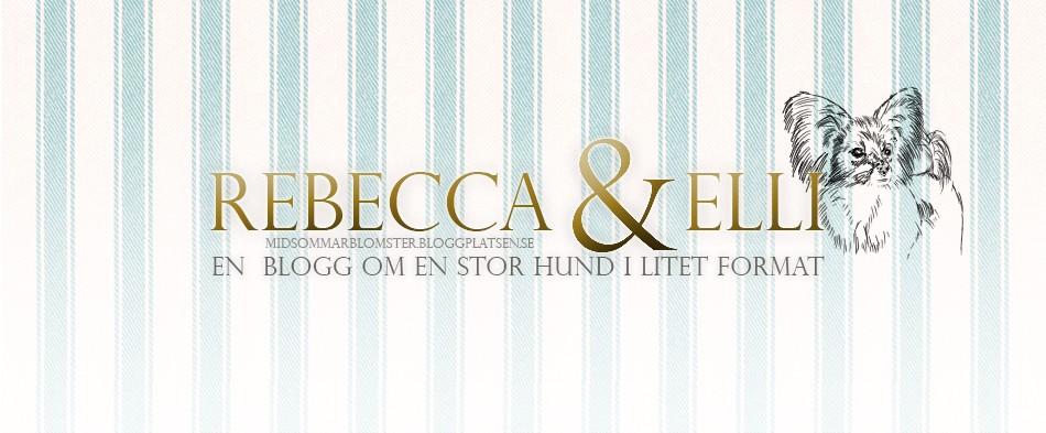 Rebecca och Elli- Livet med stor hund i litet format